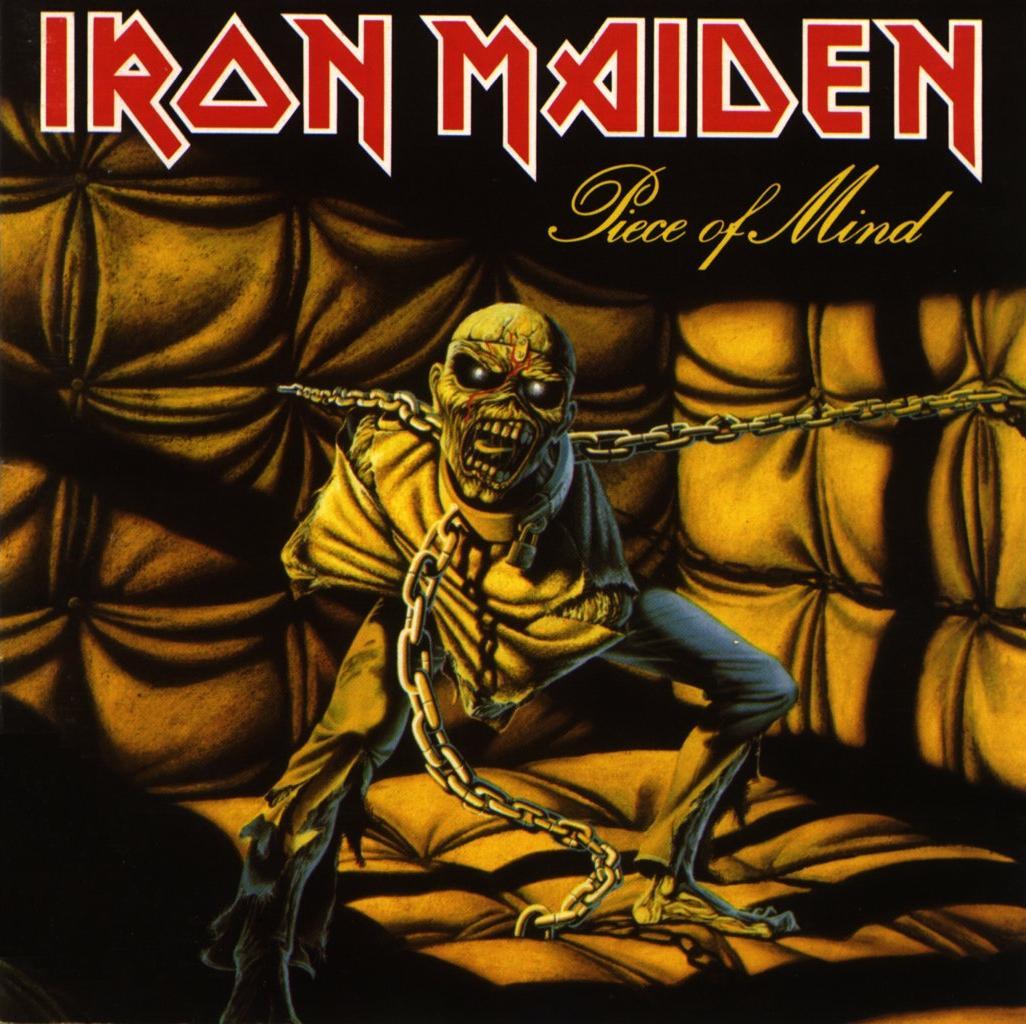 Iron Maiden Piece of Mind Album